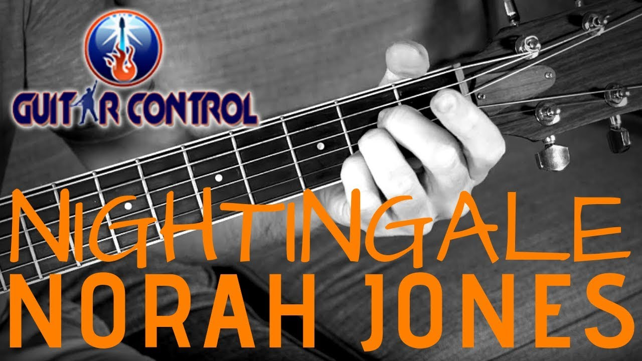 """How To Play """"Nightingale"""" By Norah Jones – Super Simple Acoustic Guitar Song – Easy Guitar Lesson"""