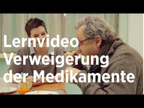 Lernvideo: Medikamentenverweigerung (видео)