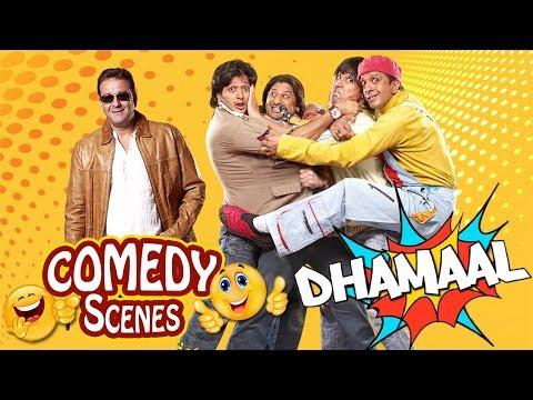 Dhamaal Comedy Scenes - Arshad Warsi - Ritesh Deshmukh - Javed Jaffrey - Asrani