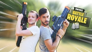 Video FORNITE IN REAL LIFE (IRL) : OUTSIDE LASER GAME ! MP3, 3GP, MP4, WEBM, AVI, FLV Juli 2018