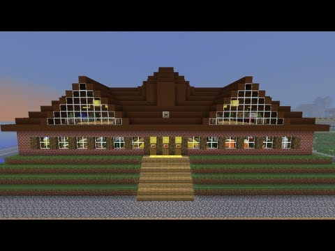 Minecraft Tutorial Of How To Build A Nice Big Mansion Part 2 | Apps ...