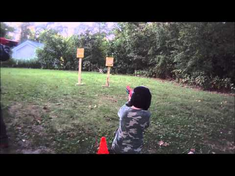 Kids Video - First Person to Hit the Bulls-eye