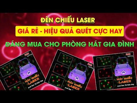 Máy chiếu Lazer 24 hiệu ứng dùng cho quán karaoke, cà phê