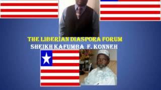 LIBERIAN DIASPORA FORUM(LDF) With  Hon. Sheikh Kafumba F. Konneh