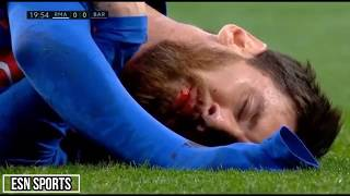 Video Cristiano Ronaldo, Messi & Neymar   l  Horror Fouls,Bleeding l 1080i HD MP3, 3GP, MP4, WEBM, AVI, FLV April 2019
