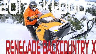 4. STV 2017 Ski-Doo Renegade Backcountry X
