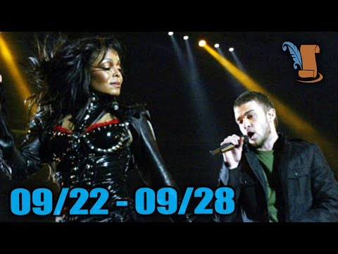 A Week In History: Janet Jackson's Super Bowl Wardrobe Malfunction & More