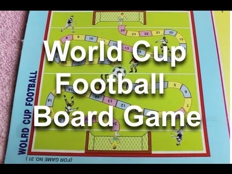 World Cup Football Board Game