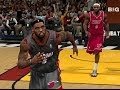 LeBron chasedown block on LeBron NBA 2K14