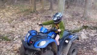 2. бездорожь� ATV Kymco MXU 150
