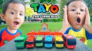 Video Mainan Bus Tayo Garasi Hadiah Dari Chaki Kids Meal Edisi Desember 2018   Chaki Meal KFC toys 2018 MP3, 3GP, MP4, WEBM, AVI, FLV April 2019