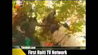 President Aristide Retour En Haiti En Direct TNH Via Tele Haiti - Aristide Is Back - Haiti News #4