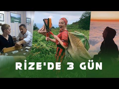 , title : 'Rize Vlogu | Rize'de 3 Gün / Lazca Öğrendim, Çay Topladım'
