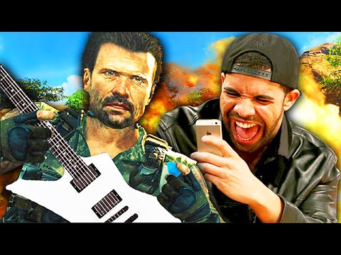 INSANE GUITAR PLAYER on Call of Duty! – (Playing Guitar on Black Ops 2) #7