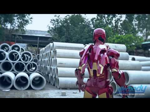 Killerbody Hero Iron Man Armour-Mark VII Laser Effect Display
