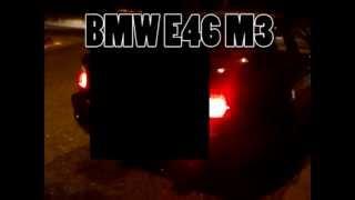 BMW E46 M3 exhaust sound (weismann silencer)