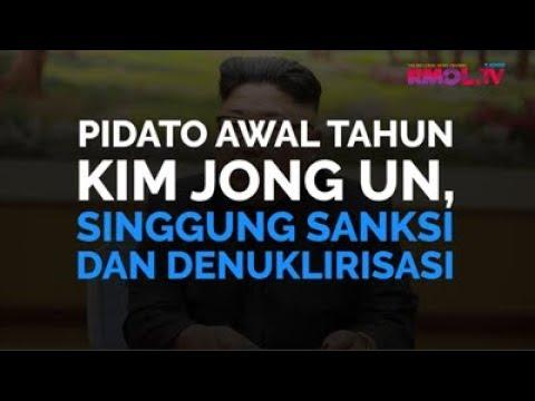 Pidato Awal Tahun Kim Jong Un, Singgung Sanksi Dan Denuklirisasi