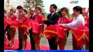 VietJetAir Khai Trương đường Bay TP.HCM - Hải Phòng, HTV9 5h45 08 Oct 2012.wmv