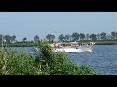 Netherlands Akersloot lake and harbor Noord-Holland Jachthaven en Alkmaardermeer Nederland