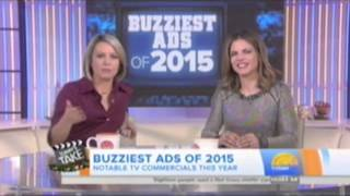 TODAY'S TAKE ON NBC TODAY'S SHOW - BUZZIEST ADS OF 2015
