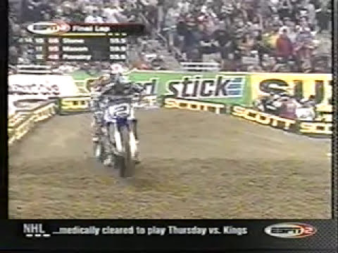 jeremy mcgrath - The 2nd heat race from St. Louis 2002. Watch McGrath and Ricky go at it along with guys like Ferry, Roncada, Voss, Kyle Lewis, etc. Enjoy.