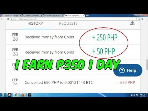 I Earn P300 Today! Make Money Coins PH
