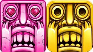 Temple Run 2 Blazing Sands VS Frozen Shadows iPad Gameplay for Children HD #49