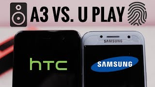 In this video I will be comparing the fingerprint sensors and the speakers on the galaxy A3 and the Htc U play so hope you find this video helpful.Subscribe for more tech videos and follow me on:Twitter -  https://www.twitter.com/techguy5141Instagram - https://www.instagram.com/techguy5141