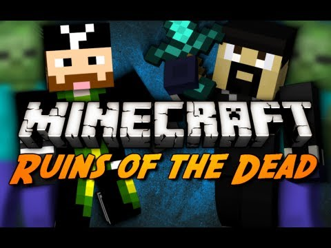 Ruins of the Dead - Part 2/4 (Minecraft Zombie Siege Mini-Game)