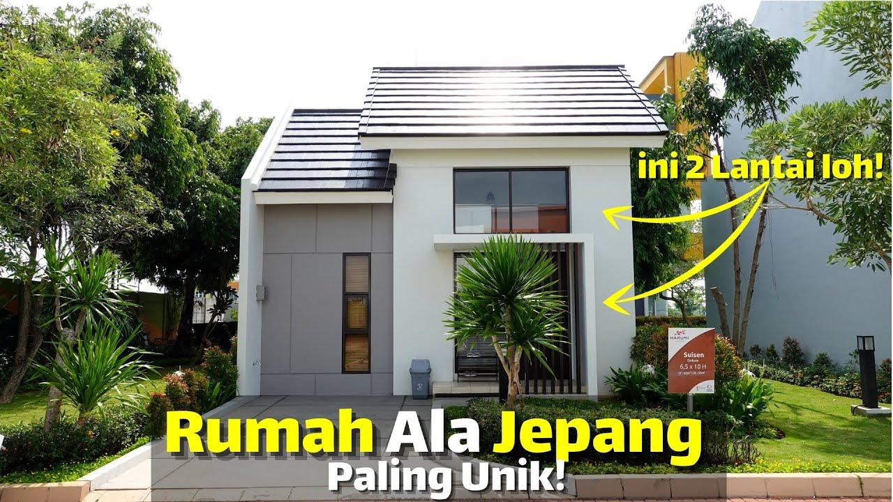 Desain Rumah Ala Jepang Dari Luar 1 Lantai Ternyata Dalemnya 2 Lantai?! Summarecon Emerald Karawang