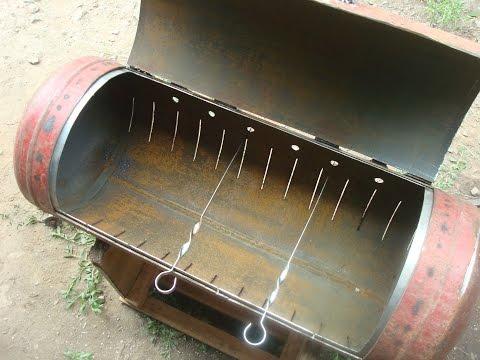 Гриль мангал барбекю своими руками фото из
