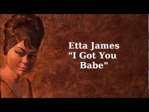 Tekst piosenki Etta James - I Got You Babe po polsku