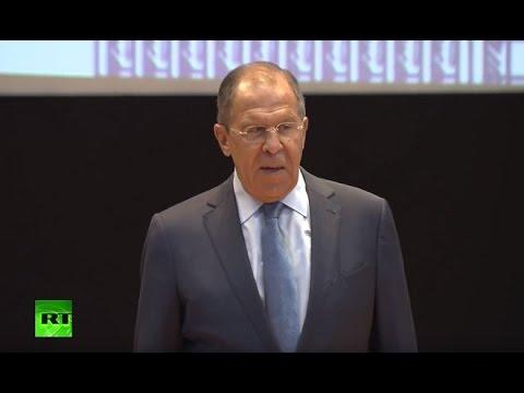 Сергей Лавров выступает перед студентами МГИМО - DomaVideo.Ru
