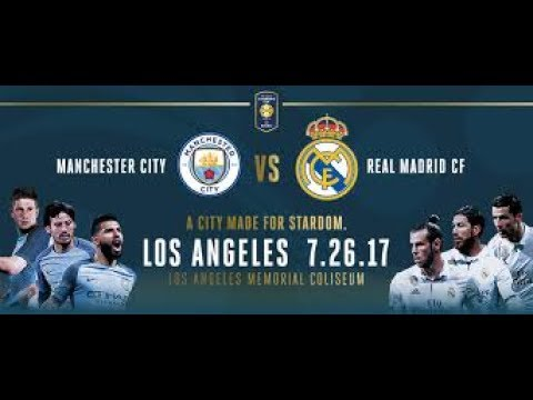 ទស្សនា Highlights & Goals Manchester City vs Real Madrid (4-1) 26 July 2017