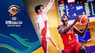 Watch Iran v Angola at the FIBA U19 Basketball World Cup 2017. ►► Subscribe: http://fiba.com/subYT Click here for more: http://fiba.basketball/u19 Facebook: ...