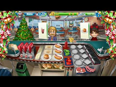 Cooking Fever || Fast Food Court || Level #12 || Games For Kids || 3 ⭐⭐⭐