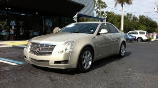 Autoline Preowned 2009 Cadillac CTS RWD W/1SB For Sale Used Review Test Drive Jacksonville