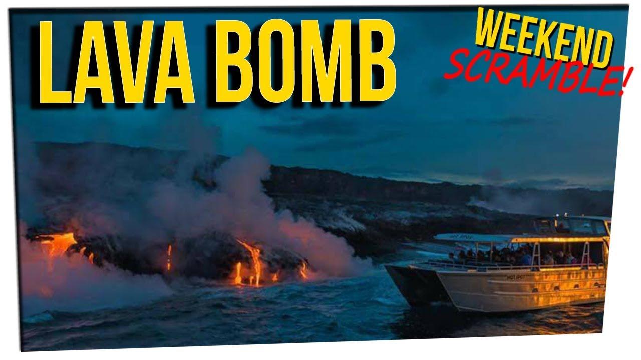 WS - Lava Destroys Boat & Injures 23 ft. Gina Darling & DavidSoComedy - YouTube