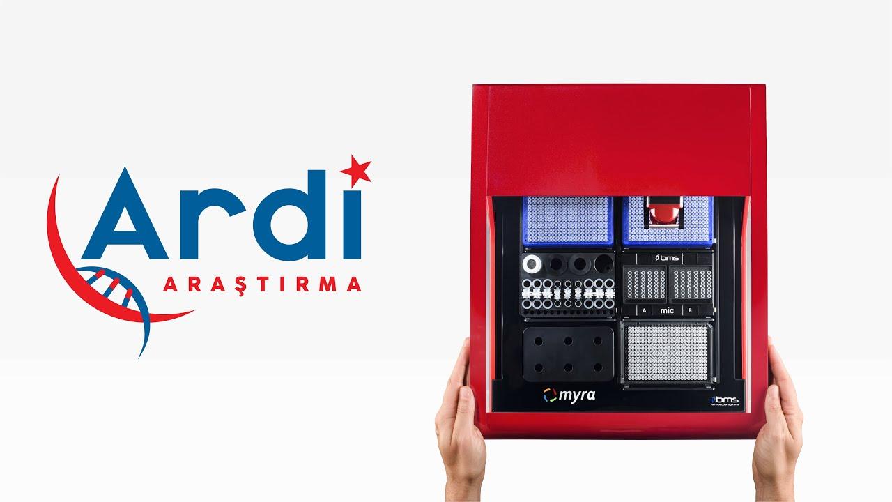 Myra Sıvı Transfer Sistemi Tanıtım (Myra Liquid Handling System)