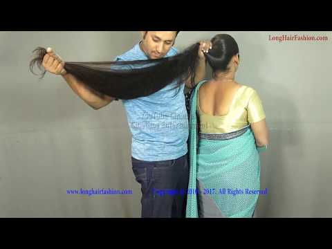 Sejal Sensual Long Hair Play By Her Male Friend