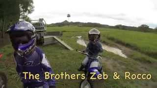 10. Yamaha PW50 and TTR50 Brothers aged 4 and 7 AWESOME Riding