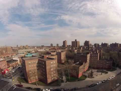 Brownsvile - Brownsville section of Brooklyn, New York. Time lapse created from Tilden Housing.