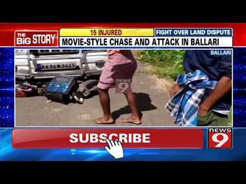 Movie-style chase and attack in Ballari
