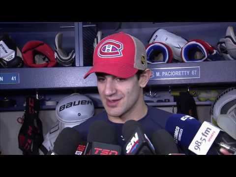 Video: Pacioretty: Nice to see Price stand up for himself