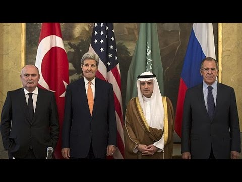 Οι κρίσεις στη Μέση Ανατολή στο επίκεντρο της τετραμερούς