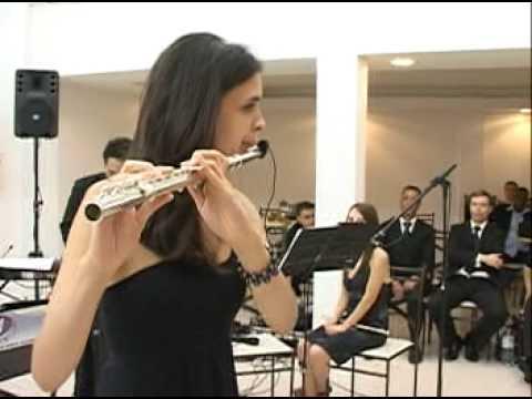 A bela e a fera com Flauta