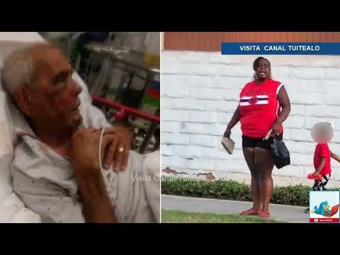 Afroamericana propina tremenda golpiza a Abuelito Mexicano de 92 años en Los Angeles