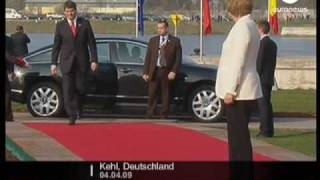 Silvio Berlusconi on Phone at Nato summit - No comment