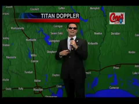 The Rapping Weatherman's fourth weather rap