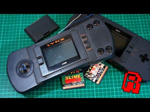 Atari Lynx Tear Down - Trash to Treasure Pt1